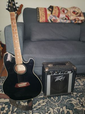 Ibanez electric acoustic and amp blues peddle. for Sale in Denver, CO