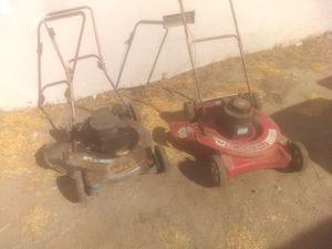 (2) vintage builders best lawnmowers (please read description) for Sale in Chino, CA