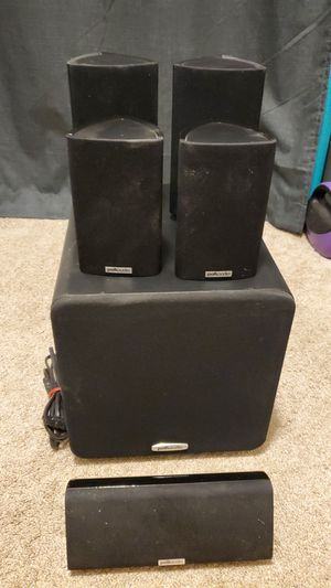 Polk Audio Surround Sound Speakers and Subwoofer for Sale in Columbus, OH
