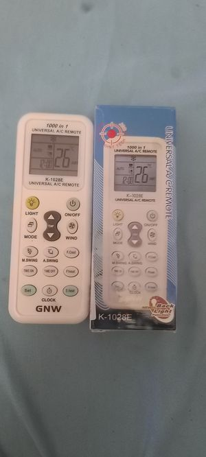 Universal ac remote for Sale in Anaheim, CA