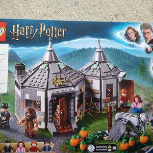 Lego Harry Potter Hagrids Hut Set W Batteries for Sale in Philadelphia, PA