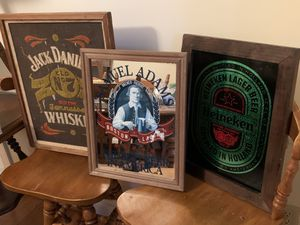 Vintage Bar Art - Man Cave - She Shed - Wall Decor - $20 each for Sale in Cary, NC