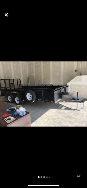 Pj utility landscape trailer 16' for Sale in Clinton Township, MI