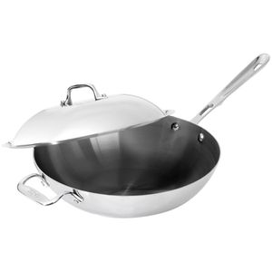All-Clad 6412 SS Copper Core Chef's Pan w/ Lid for Sale in Ontario, CA