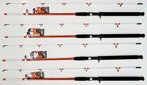 "4 New Quantum Bill Dance Catfish SE BDRV702MHJ 7'0"" M/H 2-Peice Casting fishing Rods for Sale in Glendale, AZ"