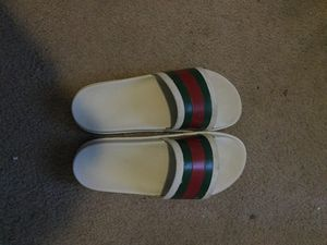 Gucci designer slides ( size 9 1/2 ) for Sale in Haines City, FL