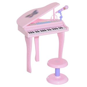 Musical Kids Electronic Keyboard 37 Key Piano with Microphone - Pink for Sale in Los Angeles, CA