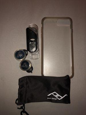 iPhone 7Plus Olloclip Lens set for Sale in Apache Junction, AZ