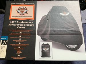 Harley Davidson 100 Year Anniversary Motorcycle Storage Cover for Sale in Harbor City, CA