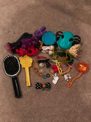 Monster high/Barbie accessories for Sale in Huntington Beach, CA