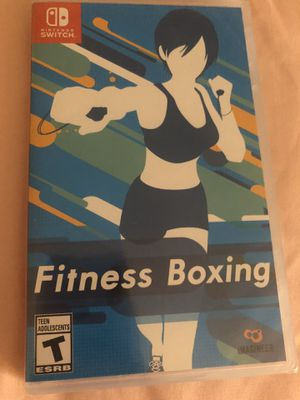Switch/ Fitness Boxing New for Sale in Durham, NC