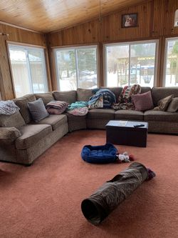 Ethan Allen custom sectional for Sale in Waterford Township,  MI