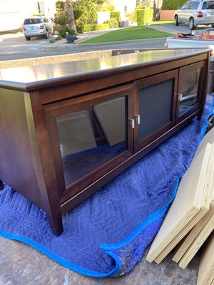 Entertainment stand for Sale in Cathedral City, CA
