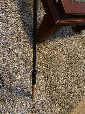 Omen black fishing rod for Sale in Sanger, CA