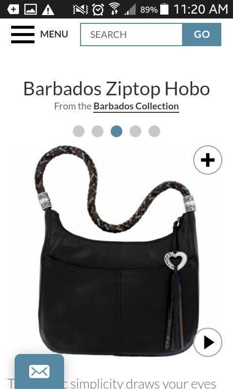 Barbados Collection Brighton Hobo Bag like new