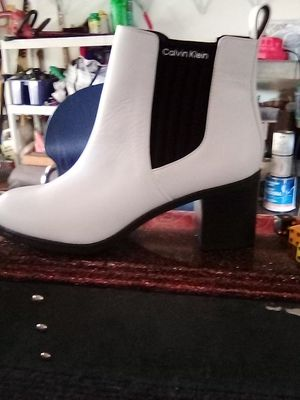 Calvin Klein ankle high boots for Sale in Hayward, CA