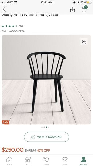 Wooden dining chairs for Sale in Fresno, CA