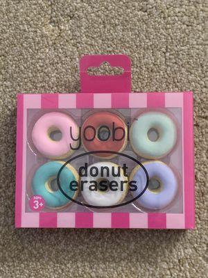BRAND NEW Yoobi Donut Erasers for Sale in Ontario, CA