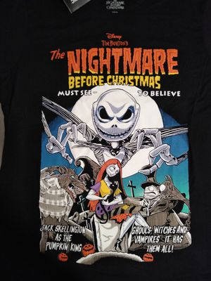 The Nightmare Before Christmas Vintage Movie PosterT-Shirt for Sale in Horicon, WI