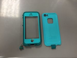 Teal life proof case for iPhone 5 for Sale in Phoenix, AZ