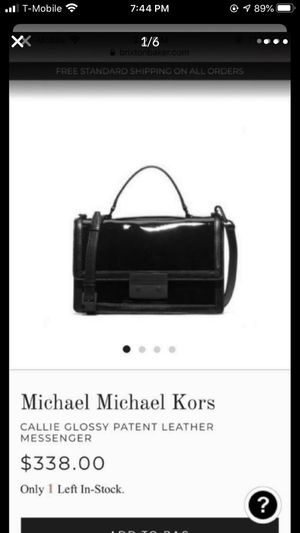 Michael Kors patent leather messenger crossbody for Sale in Mill Creek, WA