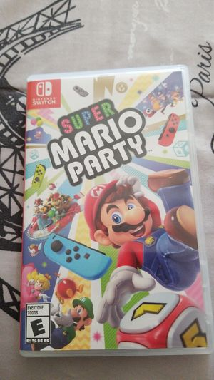 Super mario party for Sale in Beaumont, CA