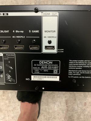 DENON RECEIVER ALMOST NEW for Sale in Newport Beach, CA
