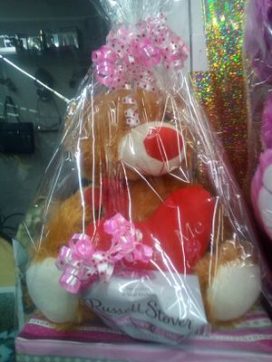 Valentine's Bear with chocolates for Sale in Dallas, TX