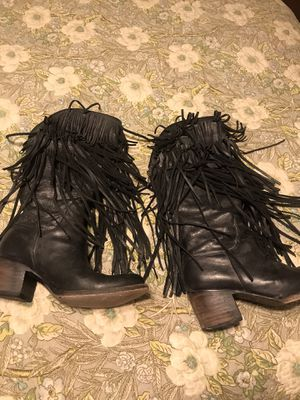 Freebird Fringe boots size 6-need to sell! for Sale in Westminster, CO