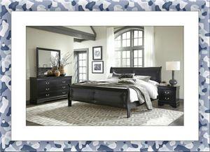 11pc Black Marley bedroom set free delivery for Sale in Rockville, MD