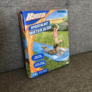 Speed Blast Water Slide with Sprinkler for Sale in Palmdale, CA