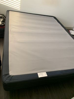 Queen Bed Frame & Box Spring (from Rooms to Go) for Sale in Austin, TX