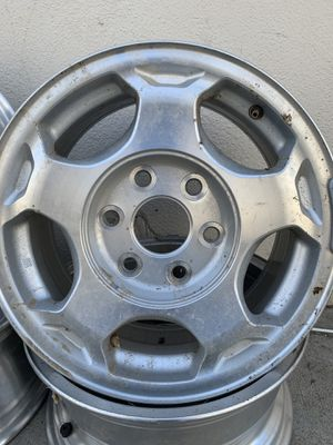 "Stock Chevy Rims 16"" 6 lugs for Sale in Fontana, CA"