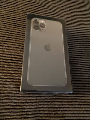 new apple iPhone 11 Pro midnight green unlocked fully paid works all carriers never opened for Sale in Fremont, CA