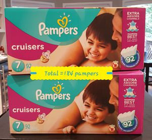 Diapers Pampers #7 for Sale in Roswell, GA