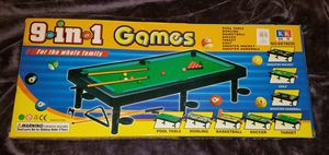 9 in 1 game board (new, never used) for Sale in Hillsboro, OR
