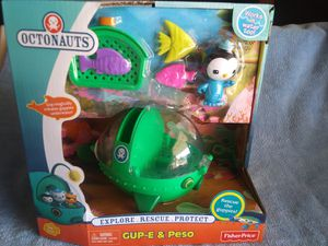 OCTONAUTS GUP- E & PESO for Sale in South Gate, CA
