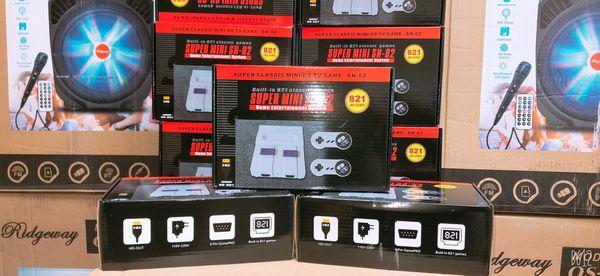 Super classic mini HD TV games built in 821 classic game super mini Nintendo