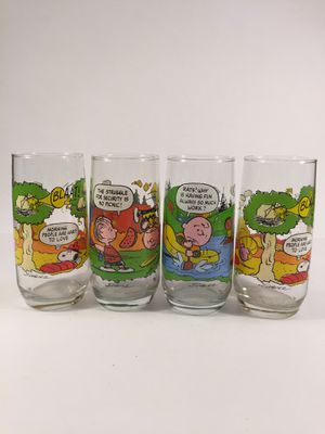Snoopy Glassware for Sale in Indianapolis, IN