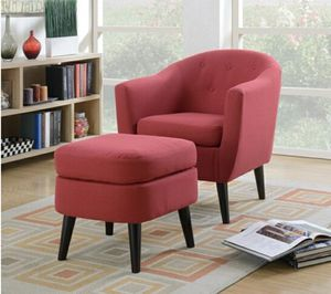 Red accent chair for Sale in Las Vegas, NV