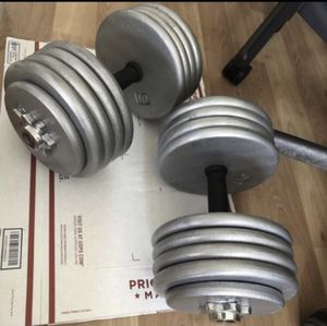 Dumbbells Adjustable 4-94 Lbs EACH - Pair for Sale in Bothell, WA