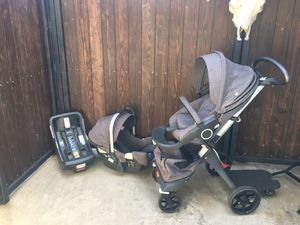 Stokke Stroller and car seat for Sale in Azusa, CA