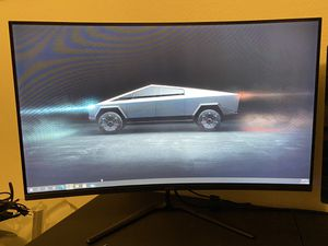 Curved 32 inch gaming monitor 165hz for Sale in Pearland, TX