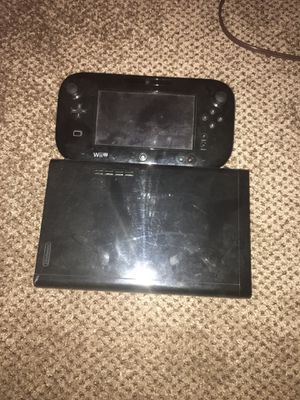 Wii U w/ Wii controllers and game pad(games optional) price negotiable for Sale in Pillager, MN