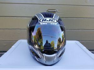 HJC motorcycle helmet, large for Sale in Long Beach, CA