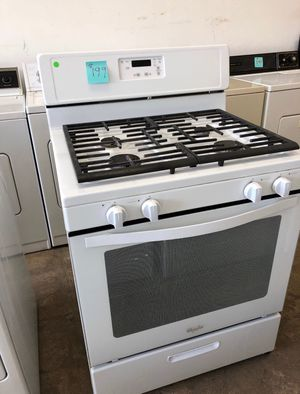 ON SALE! LG Gas Stove Oven With Warranty White #728 for Sale in Burlington, NJ
