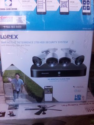 Lorex 5MP SMART SECURITY SYSTEM. for Sale in San Diego, CA