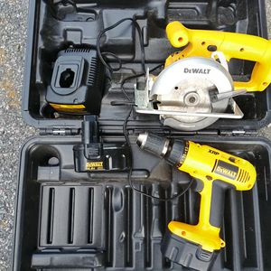 Dewalt 14.5 drill & saw for Sale in Quincy, MA