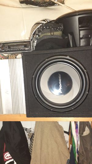 Complete car stereo system for Sale in San Leandro, CA