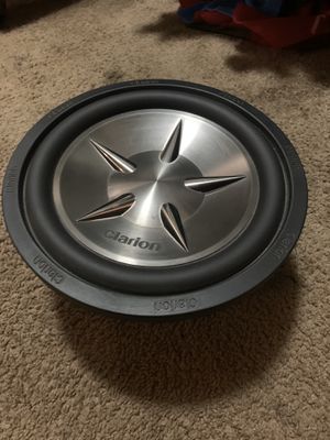 Clarion 12 Subwoofer for Sale in Rancho Cucamonga, CA